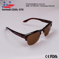 8bb781eb79c Semi Rimless Trendy Retro Polarized Fashion Sunglasses Women Men