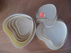 Wood Heart-Shape Cheese Box with Competitive Price