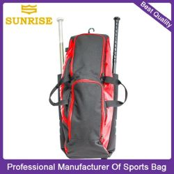 Colorful 600d Whole Baseball Bat Backpack Basaball Bag