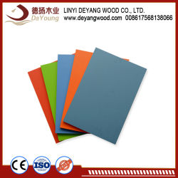 Plain Plywood Melamine MDF for Furniture Board