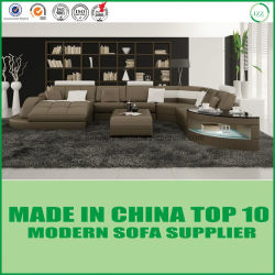 Wholesale U Design Fashion Living Room Furniture Leather Sofa Set