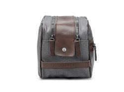 Waterproof Canvas Cosmetic Bags Toiletry Bag Dopp Kit Makeup Bag for Men