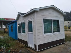 Container House with Lightweight Steel Structure Used for Hospital Construction