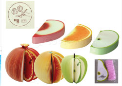 Pop-up Note / Paper Gift Notes /Kudamemo Fruit