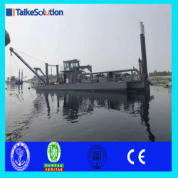 Cutter Dredger Excavation Equipment with Spare Parts for Land Reclamation