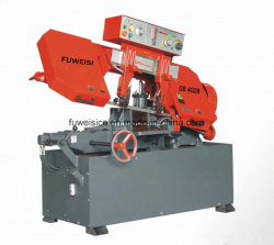 Sharp Cut Brand-GB-4028 Band Saw Machine for All Kinds of Carbon Steel Bar Cutting.