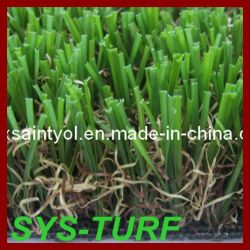 Four Tons Straight and Curly Family Garden with Artificial Grass