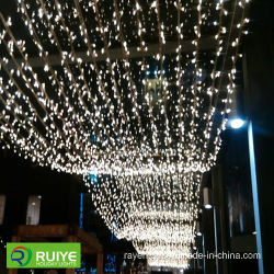 curtain festival decoration lights led waterfall string light