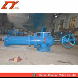 High Performance Ceramic Sealing Anti Scar Gate Valve Slurry Valve