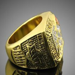 Hot 1991 Washington Redskins Super Cup Sports Rings