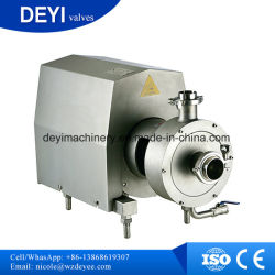 Stainless Steel Sanitary Milk Centrifugal Pump with Open Impeller