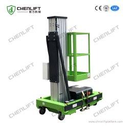 6-10m Hydraulic Lift Table Aluminum Aerial Work Platform Single Mast