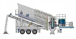 Mobile Cone Crusher With ISO9001-2000