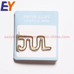 Custom Shape One PVC Paper Clip, Wine Bottle Shape Paper Clip