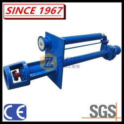 High Efficiency Vertical Centrifugal Submerged Chemical Slurry Pump