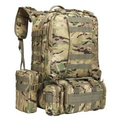 Wholesale Army Camo Backpack Bag for Outdoor Sports and Hiking