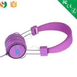 Comfortable Purple Sport Computer Bests Headphones