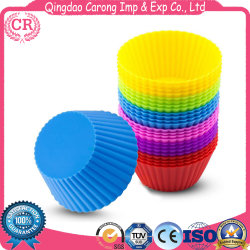 Food Grade Silicone Cupcake Baking Molds