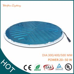 Ultra Thin High Quality Lighting IP44 30W 400mm 12inch~24inch Slim Down Aluminum Housing Recessed Round LED Panel Ceiling Light China Distributor
