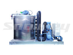 Fast Cooling Slurry Ice Machine for Seafood Automatically 35t/D