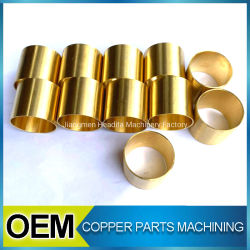 CNC Lathe Turning Brass Tube Machining Services