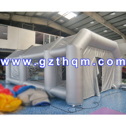 Hot Sale Inflatable Car paint Booth/Cheap Portable Spray Booth/8*4*3m Oxford Strong Air paint Booth