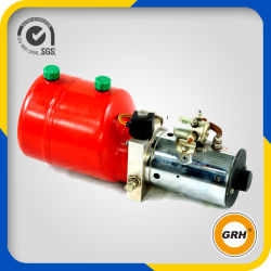 24V DC Horizontal Single Double Acting Mini Electric Mobile Hydraulic Parts Mobile Power Pack for Dump Trailer