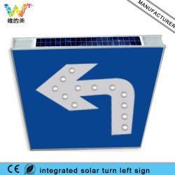 Integrated Aluminum Board Solar Traffic Stop Sign