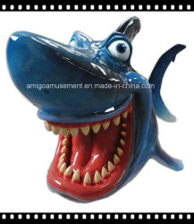 Dynamic Color Painting Fiberglass Toy for Party Decoration
