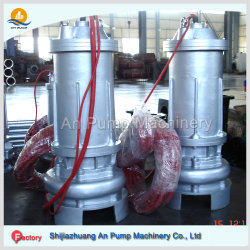 Submersible Wastewater Sewage Treatment Centrifugal Pump with Submersible Motor