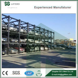 GG Lifters 4 Post Hydraulic Car Stacker Parking Car Storage