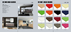 High Gloss Acrylic Laminate MDF Sheet for Kitchen Cabinet Door (factory wholesale)