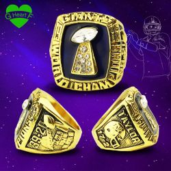 New York Giants Sports Jewelry 1986 Championship Ring with SGS