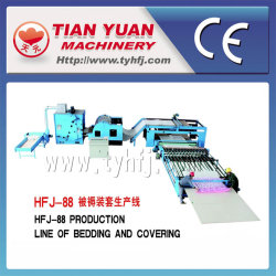 Quilt Bedding Covering Nonwoven Machinery Production Line (HFJ-88)