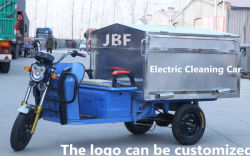 Sanitation Car 0.7, Electric Tricycle, Electric Cleaning Car