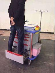 AG-Et001A1 ABS Plastic Medical Nursing Emergency Hospital Use Trolley