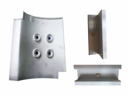 OEM Profile Processing Aluminum Bracket Solar Installation Accessories