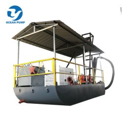 Portable Sand Suction Dredger for River