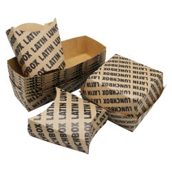 Burger Box, Hot Dog and Fries Combination Pack