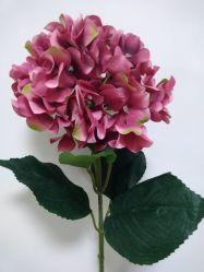 China single silk flowers single silk flowers manufacturers hand made artificial single hydrangea silk flower mightylinksfo