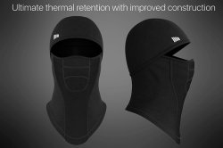 Windproof Ski Mask - Fleece Hood - Coldweather Face Motorcycle Mask - Ultimate Thermal Retention & Moisture Wicking with Performance Soft Fleece Construction