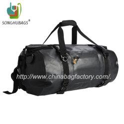 Sport Camping Black Waterproof Dry Duffle Backpack Bag Ty-0544