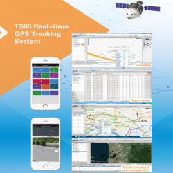 GPS Tracking System Software for Motorcycle/Car/Truck Fleet Management Ts05-Ez