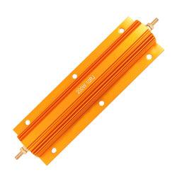 5W 10W 25W 50W Gloden Aluminum Shell Wirewound Resistor
