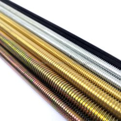 Qty 30 Sticks M6-1.0 x 1 Meter Stainless Steel Threaded Rod A2 All-Thread 3/'