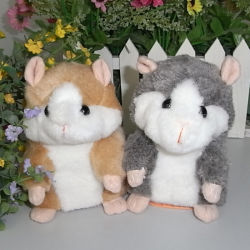 Free Shipping Mimicry Pet Takara Tomy Plush Moving and Talking Toy Hamster,  Repeat Any Language