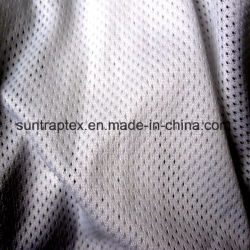 Polyester Knitted Mesh Fabric for Sportswear Lining