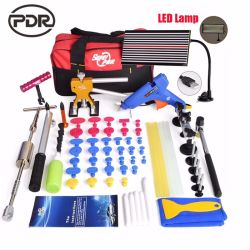 Pdr Tools Kit Car Tools Repair Dent Puller LED Lamp Reflector Board Hand Tool Set