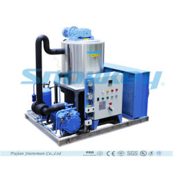China Top1 5 Tons Per Day Small Size Air Cooling Type Slurry Ice Machine