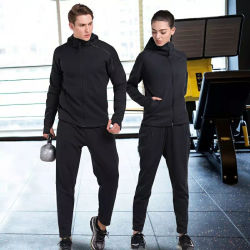 Wholesale Winter Mens Womens Running Fitness Sport Suits Plain Gym Ladies Tracksuit